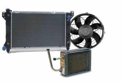 Радиаторы основные/конд/печки